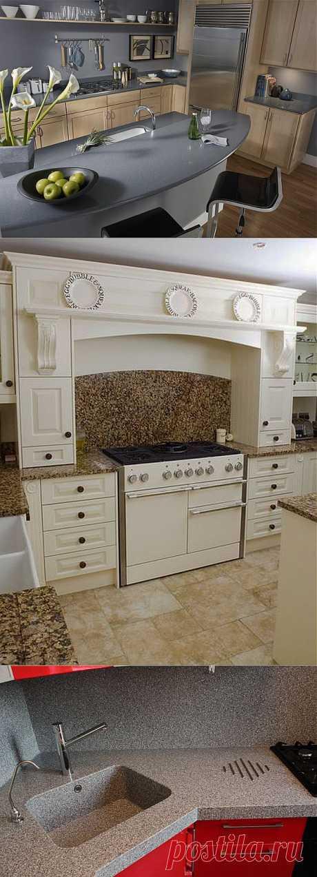 Кухонный монолит - модная мебель + идеальная чистота.