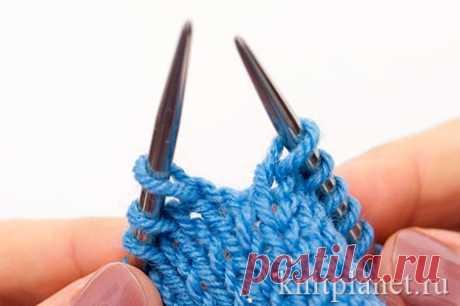 Уроки вязания спицами для начинающих. Часть 2. Строение трикотажного полотна. | Планета Вязания