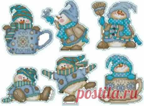 Новогодние игрушки — Снеговики - Домоводство - медиаплатформа МирТесен