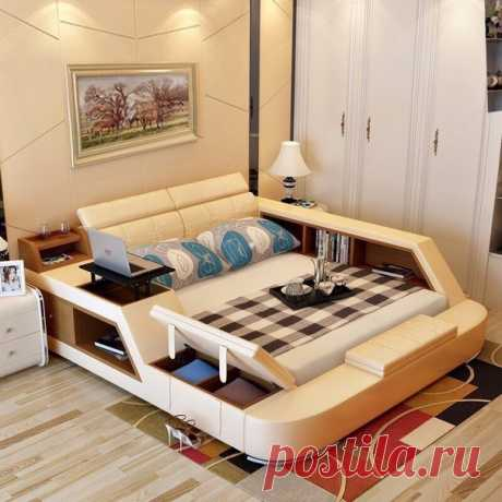 Хотели бы себе такую кровать?