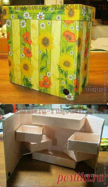 Мастер-класс: Коробка-ширма