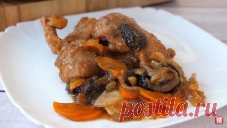 Мясо на овощной подушке, вкусно, как у бабушки в гостях🤤+ КОНКУРС | Ольга Матвей | Готовить Просто | Яндекс Дзен
