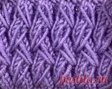 Объемная рельефная резинка 2х2 с вытянутыми петлями (Вязание спицами) – Журнал Вдохновение Рукодельницы