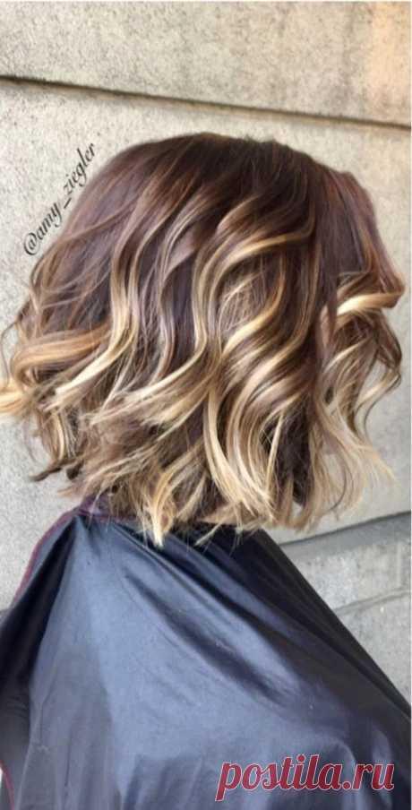 30 умопомрачительных вариантов стрижки боб на волнистые волосы