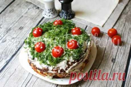 Кабачковый торт   4vkusa.ru