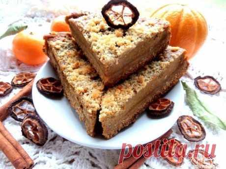 Как приготовить латышский тыквенный пирог с цитрусовыми - рецепт, ингредиенты и фотографии