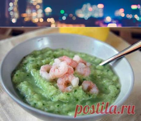 Диетический овощной суп с креветками | Полезные советы