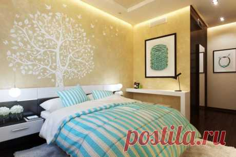 Options of finishing of walls — Luxury and a cosiness