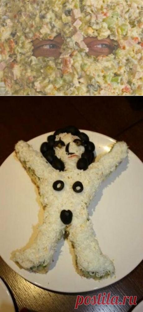 Креативные и смешные блюда