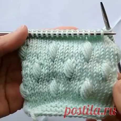 """Публикация Уроки Вязания⚜️Схемы⚜️Описания в профиле Instagram: """"Видео урок от  @la.na.knit - Необычные шишечки 🤗🌿 Выглядят красиво с лицевой и изнаночной стороны. Как вам?  Такой узор я использовала в…"""" 2,871 отметок «Нравится», 37 комментариев — Уроки Вязания⚜️Схемы⚜️Описания (@easy._.knitting) в Instagram: «Видео урок от  @la.na.knit - Необычные шишечки 🤗🌿 Выглядят красиво с лицевой и изнаночной стороны.…»"""