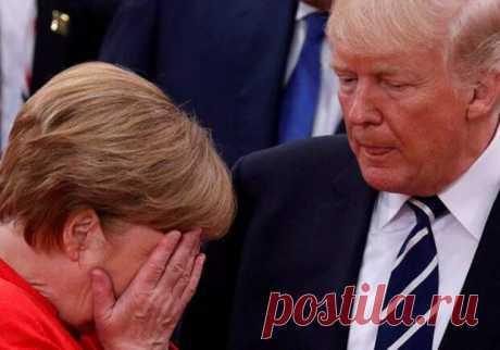 Германия восстаёт против США: Меркель устроила скандал Трампу - Спички - не игрушка - медиаплатформа МирТесен Ультиматумы Вашингтона встали поперек горла Берлину. Многие немецкие политики выступают против навязчивой политики американцев. Даже канцлер Германии Ангела Меркель все чаще отказывается идти навстречу США. Так, например, официальный представитель ФРГ Штеффен Зайберт огласил, что Меркель отказалась