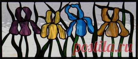How to make a stained-glass window with own hands: 3 widespread ways