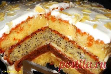 Торт «Сметанка»