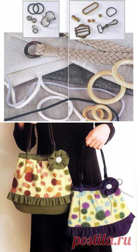 Cutting and sewing of bags