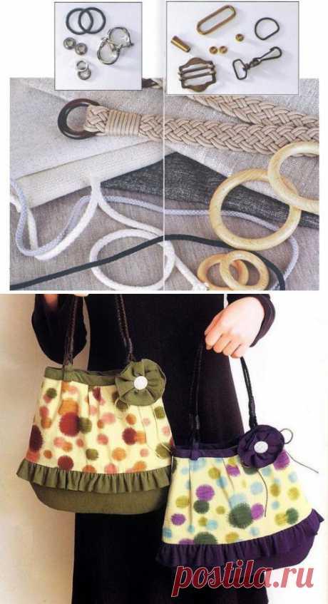 Раскрой и шитье сумок