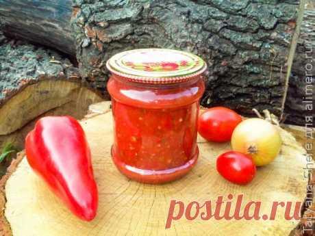 👌 Невероятно вкусный соус Сацебели из помидоров рецепт проще простого, рецепты с фото Это самый вкусный соус из помидоров, который я только знаю, и отличнейшая альтернатива различным магазинным кетчупам! Готовится такой соус невероятно просто, а вкус у него получает...