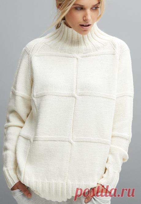 Вязаный свитер Ryder | ДОМОСЕДКА