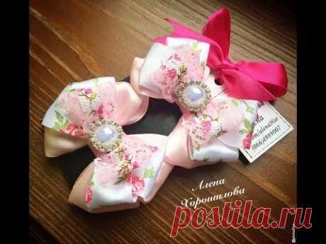 Серединки для канзаши бантиков и цветов своими руками Хорошилова Алена