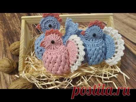 ПАСХАЛЬНАЯ КУРОЧКА крючком / Easter chicken Crochet