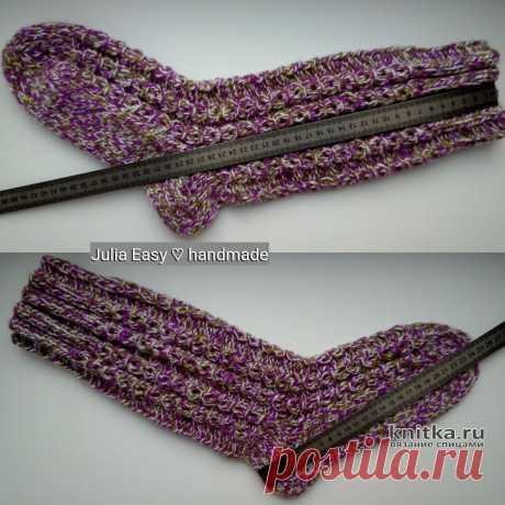 Женские носки спицами Семейная пара. Мастер – класс от Julia Easy, Вязание для женщин