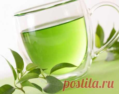 Маска на основе зеленого чая, которая стирает морщины