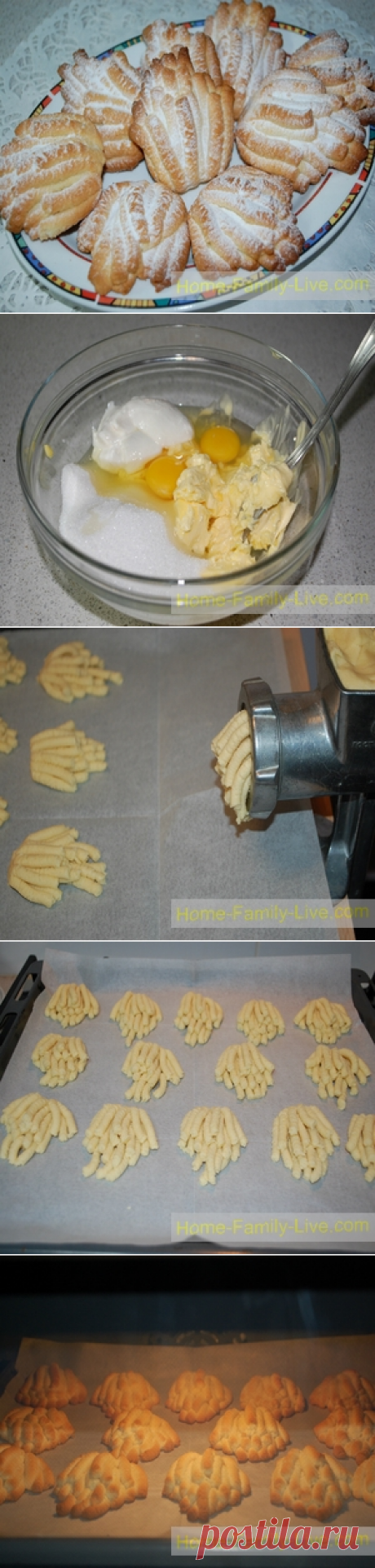 Печенье Хризантема/Сайт с пошаговыми рецептами с фото для тех кто любит готовить