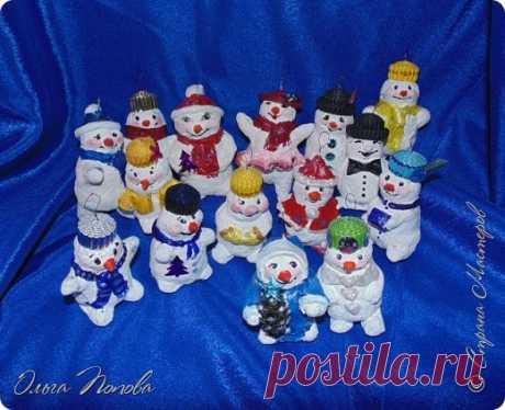 Снеговички с разговорчиками
