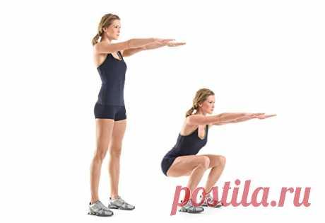 Фитнес-пятиминутки - для тех, кому некогда — Мегаздоров
