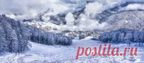 Красная поляна, Сочи. Автор фото — Алексей Сазонов: