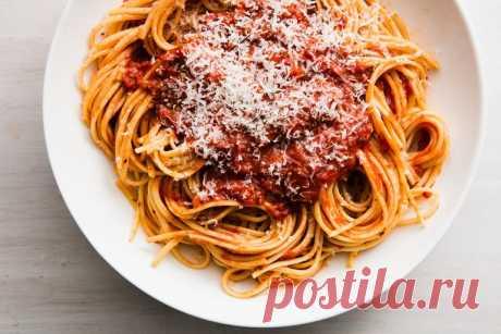 Домашний рецепт соуса для спагетти
