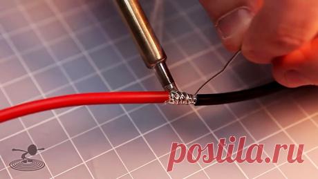 Прочнейшее соединение проводов большого сечения без утолщения скруткой