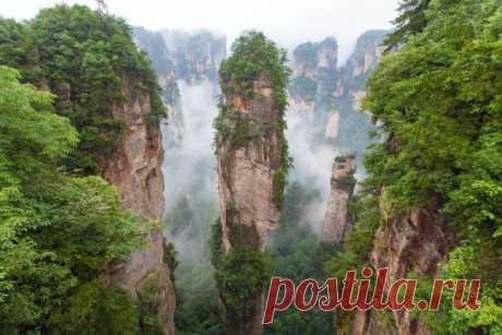 (+1) тема - 20 реальных мест, которые выглядят словно вышли из сказок   Среда обитания