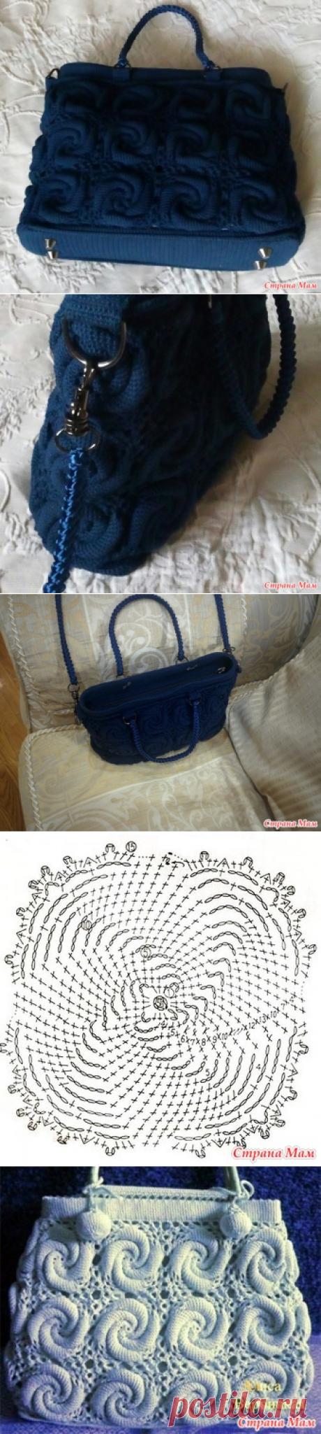 сумочка крючком - Вязание - Страна Мам