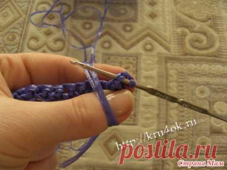 Мастер-класс по вязанию мочалок - Вязание - Страна Мам