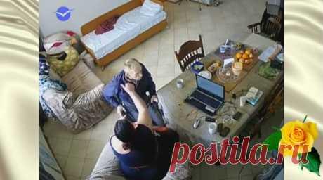 Дочь решила установить камеру в доме своего пожилого отца. И вот что она обнаружила — Калейдоскоп чудес