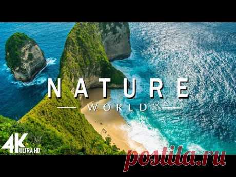 FLYING OVER NATURE  (4K UHD) - Relaxing Music Along With Beautiful Nature Videos - 4K Video Ultra HD