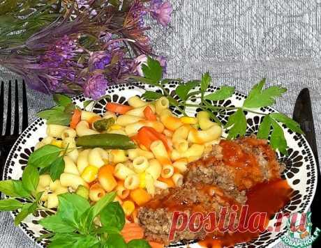 Запечённые мясные котлеты с лисичками – кулинарный рецепт