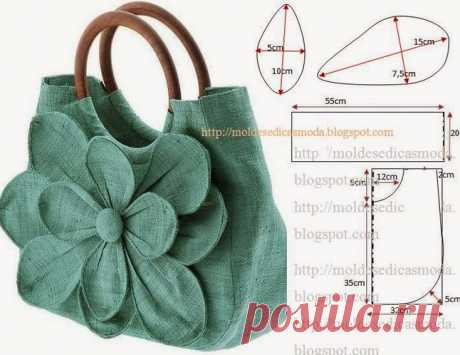 When I saw what bag was sewed by my friend, lost a speech power. All patterns here!