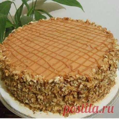 Рецепт очень вкусного тортика, который прост в приготовлении - Скатерть-Самобранка - медиаплатформа МирТесен