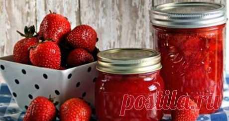 Лучший рецепт клубничного варенья без варки ягод | В темпі життя