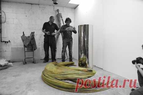 Впечатляющие анаморфные скульптуры от Джонти Гурвица – Zagge.ru