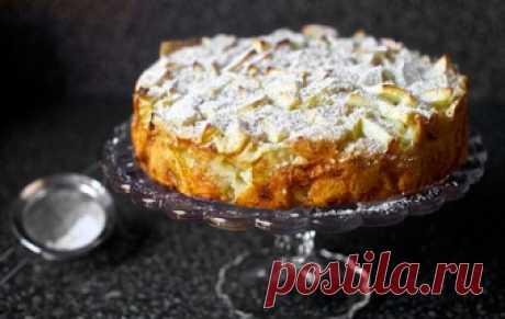Постная шарлотка / Пироги и пирожки / TVCook: пошаговые рецепты с фото