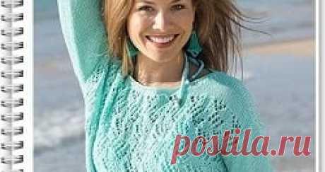 Пуловер спицами для женщин Как связать пуловер спицами. Схема и описание вязания для начинающих