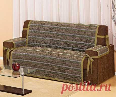 Интересная идея чехла для дивана — DIYIdeas