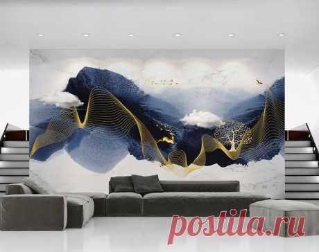 Фотообои на стену Волнующееся море. Артикул №dec_2099. Категория: 3D | KLV-обои