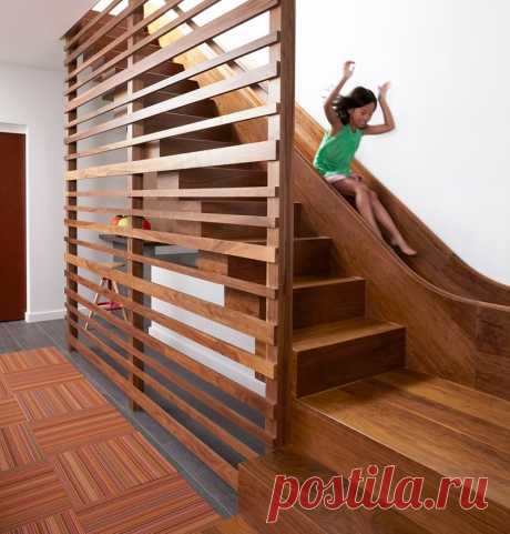 Лестница+горка. 12 крутых идей | Компания Технолюкс-К