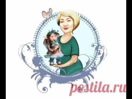 Кукла из фоамирана .Кукла Пеппи( Irina Kock)