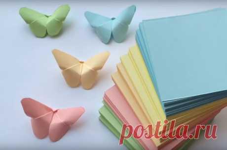 Как легко сделать бабочку оригами из бумаги пошаговая инструкция Как сделать оригами из бумаги в форме бабочки? Существует несколько простых схем. Начнём с простого, но очень красивого способа изготовления