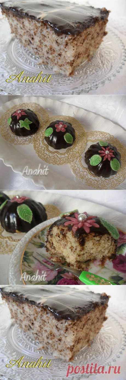 Муравьиный пирог - такой красивый, притягивающий , ну как не побежать на кухню и не испечь?! .