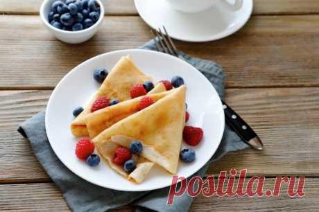 Блины на молоке и газировке — Sloosh – кулинарные рецепты
